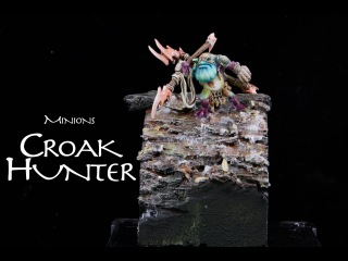 Painting Warmachine & Hordes: Minions Croak Hunter