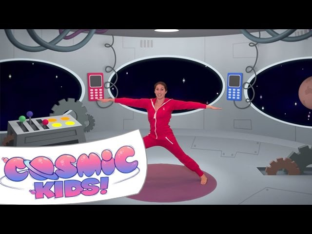Mike The Cosmic Space Monkey | A Cosmic Kids Yoga Adventure!