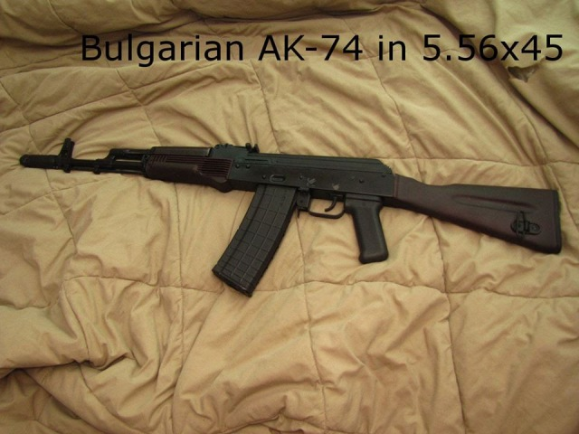 How to build an AK 74 in 5 56x45 with a bulgarian AK 74 parts kit