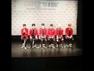 """Фанкам 160430 Пресс-конференция """"FLY IN SEOUL"""""""