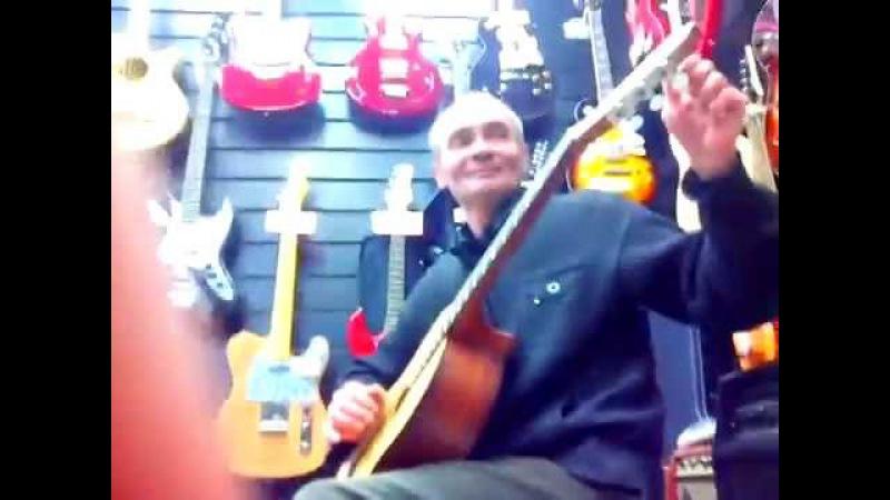 Виктор Китаев гитарист виртуоз из Казани