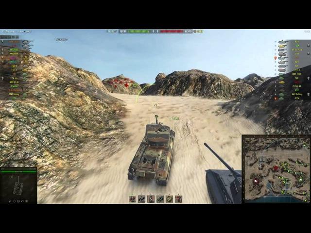 Утиный Нагиб Джов и Натали карают раков на уникальном танке М6А2Е1