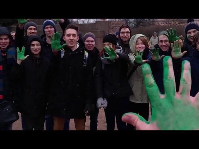 Боевые школьцы Навального: кукареку революция в Санкт-Петербурге