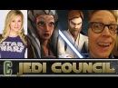 Collider Jedi Council Guests Ashley Eckstein Ahsoka Tano JA Taylor Obi Wan Kenobi