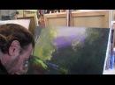 Пруд в лесу МК в Киеве 25 09 2013, часть 3 Мастер класс Художник Игорь Сахаров