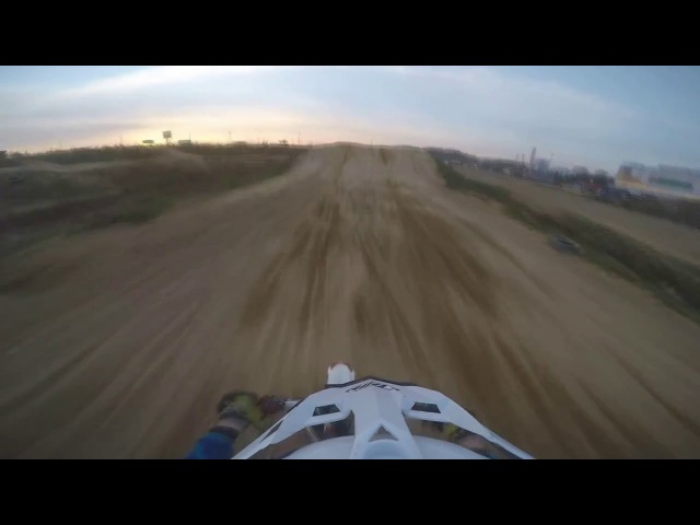 JMC160MXR Pit bike training 4 Prisma track riders Maksimov55 and Grishin32 PitbikeSPB 2