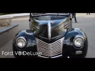 "Клуб ""Ретро авто Омск"" презентация - Ford V8 DeLuxe 1939"