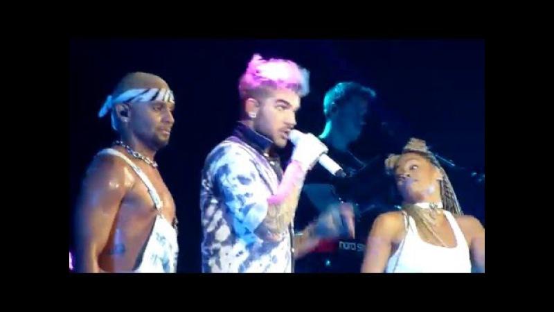 HD - Adam Lambert - Lay Me Down/Shady/Fever (live) @ Gasometer, Vienna 2016 Austria