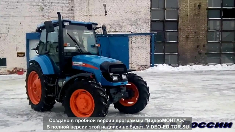 Трактор АГРОМАШ 85ТК - экологично, экономично и... экстремально!