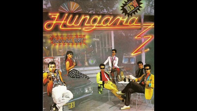Hungária Rockn Roll Album AUDIO