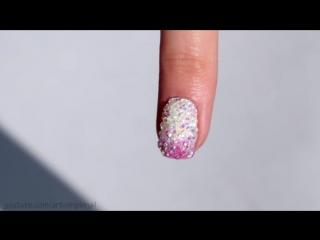 Дизайн ногтей с кристаллами пикси на гель-лаке. Как закрепить Crystal Pixie. Хрустальные кристаллы на ногтях