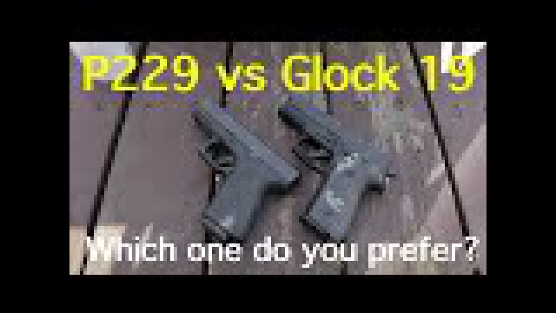 Sig P229 vs Glock 19 Which one do you prefer