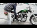 Heiwa motorcycle ajs m16 green peace