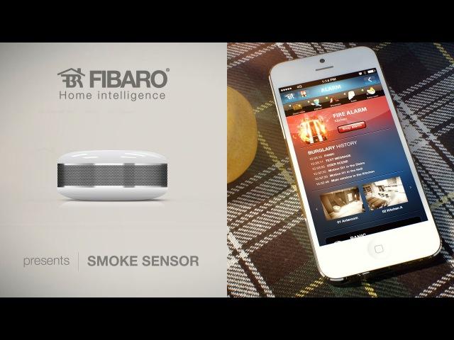 FIBARO Smoke Sensor wysokiej klasy czujnik dymu