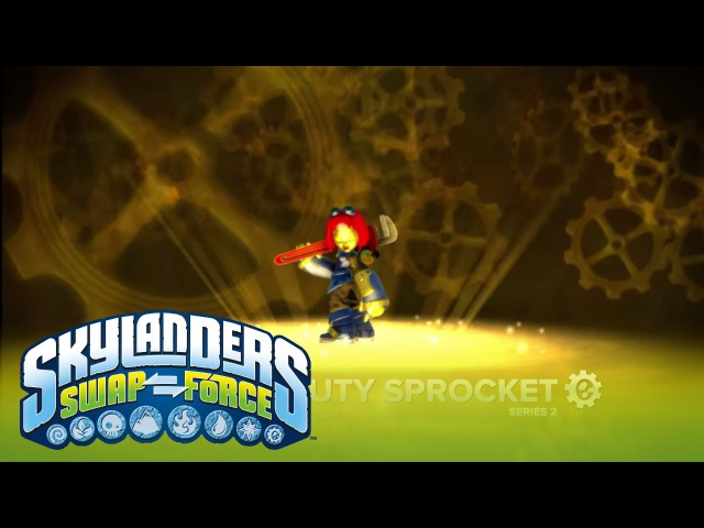 Meet the Skylanders Heavy Duty Sprocket