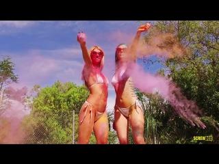 Marley Brinx, Arya Fae [HD 1080p, lesbians, new porn 2017]
