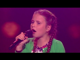 Danee – girl on fire (the blind auditions  the voice kids 2017)