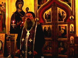Проповедь прот  Виктора Белякова на Крестовоздвижение вечер
