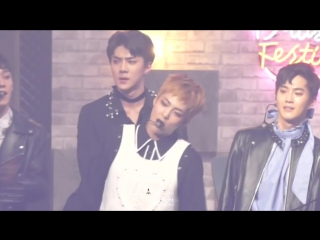 FANCAM 161231 EXO Xiumin - Ending @ MBC Gayo Daejaejun