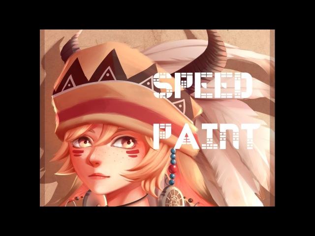 Speed paint- Paint tool sai- Lulybot
