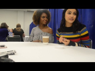 Camila Mendes and Ashleigh Murray of Riverdale Interview at WonderCon 2017