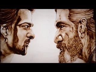 Из песка Original Baahubali 2: The Conclusion New Trailer | Sand Art | Sarvam Patel | Sand Artist - India