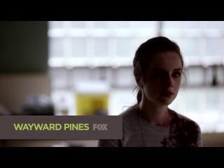 Седьмой сник-пик десятого эпизода второго сезона сериала Wayward Pines (Уэйуорд Пайнс / Сосны)