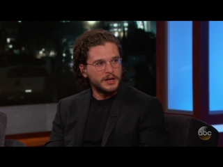 Jimmy Kimmels Three-Year-Old Daughter Has a Crush on Kit Harington