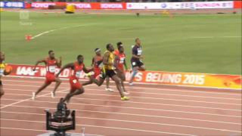 бег сильнейших спринтеров мира