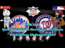 MLB The Show 17 New York Mets vs Washington Nationals Predictions MLB2017 (26th August 2017)