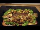Форель запечённая в духовке, рыба с картофелем в духовке, Forelle mit Salzkartoffeln