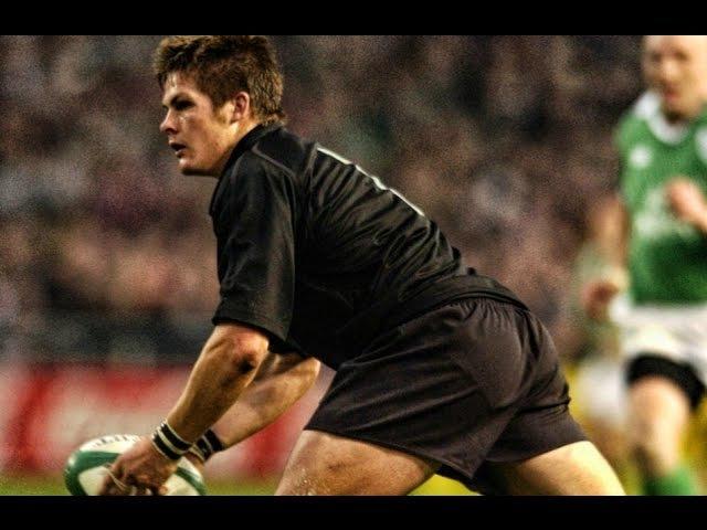 Richie McCaw All Blacks Debut 2001 Ireland vs New Zealand