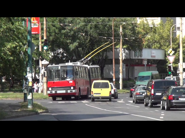 Budapest Trolleybus videomix with Ikarus 280T ZiU9 more 1080p
