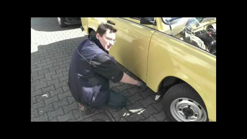 Trabant Wartung Service durchführen (inkl. Unterboden)