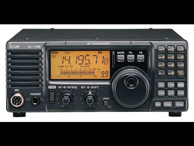Icom ic-718 модернизация и настройка (modernization)