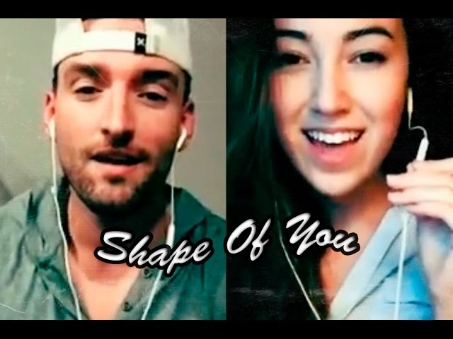 Ed Sheeran - Shape Of You (Cover by Mike Scott Ft. Mariah Belgrod) via Smule Lyrics