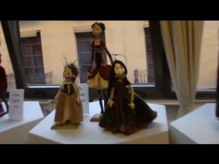 Испания,Аликанте - международная выставка авторских кукол, 1 серия