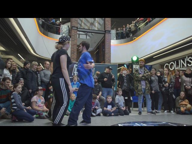 ЛТ 2017 2x2 hip hop 1 2 final Flem D June vs Rina Junior vs Burda Tamaryan