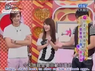 [12 June 07] Rainie & Mike cooking show - WWL cast (eng subs) 1/5