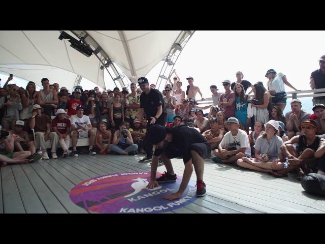 Басота Kosto VS Lis Toprocket TOP ROCK Yalta Summer Jam 2017