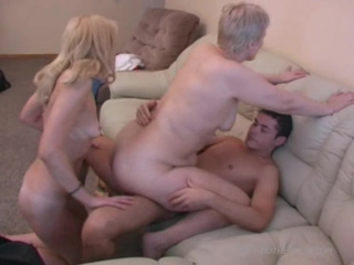 Mother and son eating out and penetrating some hot pussy