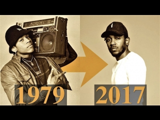 The Evolution Of Hip-Hop Timeline 1979 - 2017 (#Pн)