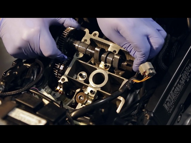 VStrom DL1000 настройка зазоров клапанов (ч.2)