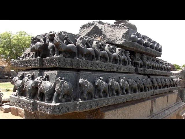Варангал. Базальтовый храм. Warangal. Basalt temple. HD 4Mbps