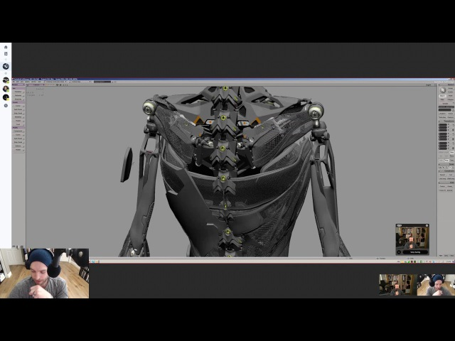 Vitaly Bulgarov Ash Thorp Maciej Kuciara G I T S Exclusive Part 2 Learn Squared Live Stream
