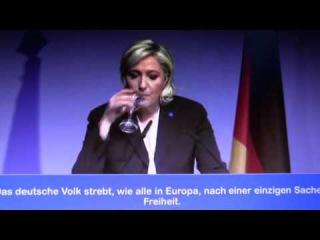 Rede von Marine Le Pen Freiheit für Europa: ENF Live aus Koblenz. 2017 Deutsch France