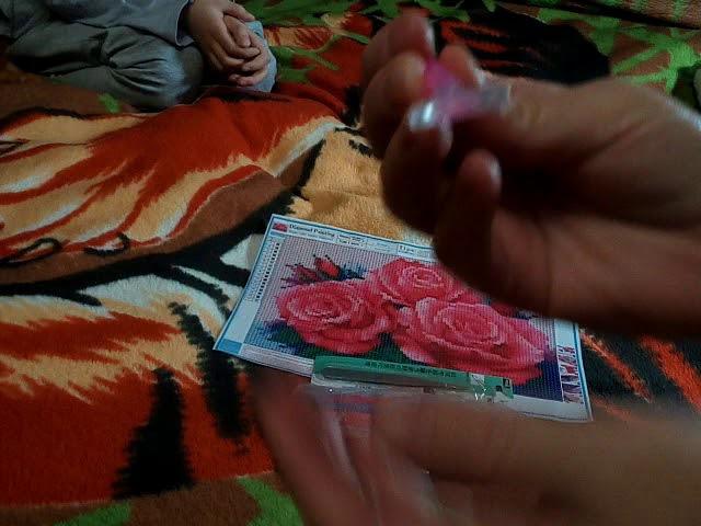 Алиэкспресс Картина алмазная живопись Розы с Татьяной Пивкиной ч 7