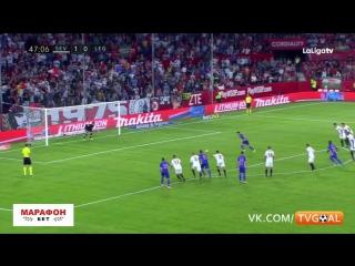 Севилья 2-1 Леганес   Обзор матча