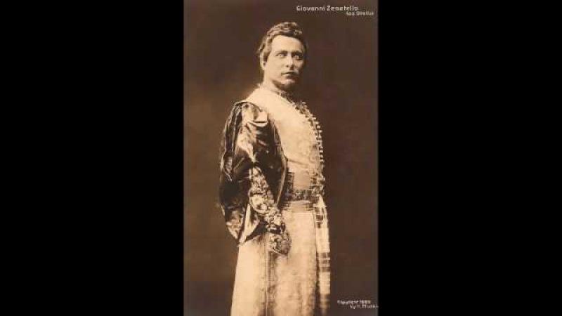 OTELLO Giovanni Zenatello ~ LIVE at Covent Garden (1926)