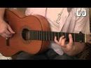 Испанская гитара фламенко Vicente Amigo Roma Разбор